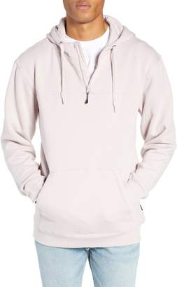 Vans Anytime Quarter Zip Hooded Sweatshirt