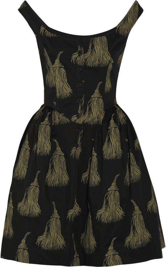 Vivienne Westwood Pannier printed cotton dress