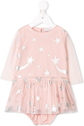 Stella McCartney star-print dress