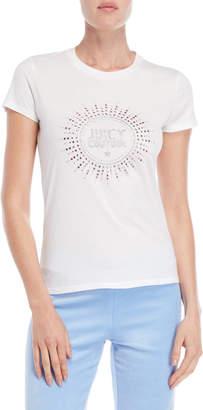 Juicy Couture Crystal Starburst Logo Tee