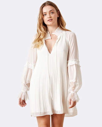 Stevie May Poise Pleated L/S Dress