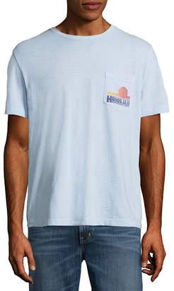 ST. JOHN'S BAY Short Sleeve Graphic T-Shirt-Slim