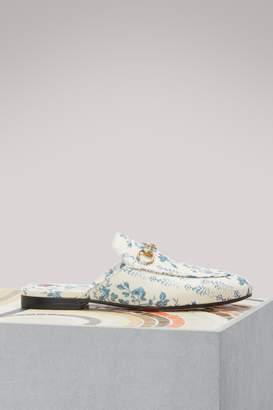 Gucci New Buds Sequence Princetown mules