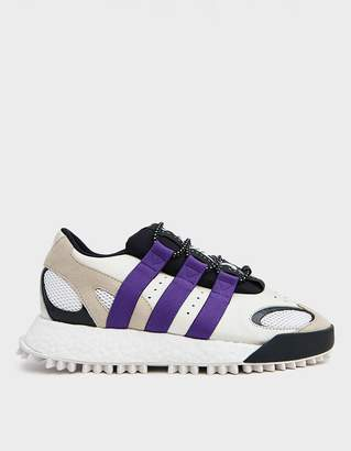 Alexander Wang Adidas X AW Wangbody Run Sneaker in Core White/Sharp Purple F11