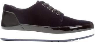 Donald J Pliner MIRANDA, Velvet and Patent Sneaker