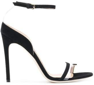Sergio Rossi open toe slingback sandals