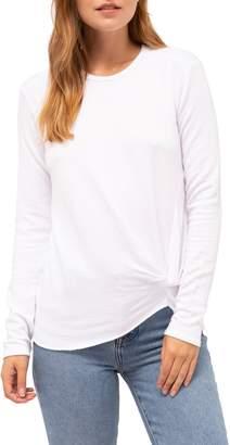 Stateside Twist Front Fleece Sweatshirt