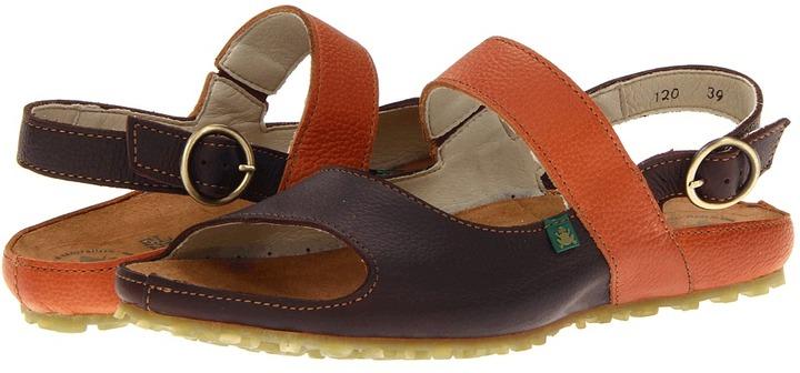 El Naturalista Ikebana N120 (Brown/Henna) - Footwear