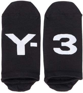 Y-3 Logo Intarsia Ankle Socks