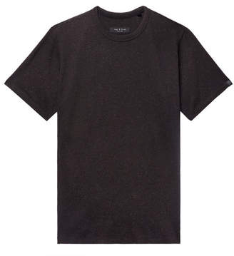 Rag & Bone James Slim-Fit Nep Cotton-Jersey T-Shirt