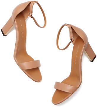 Victoria Beckham Anna Leather Sandals Heels