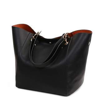 Chaidan Luxury Women Leather Shoulder Bags Big Capacity Female Top-Handle Tote  Bags Large Purses 72a44397b1212