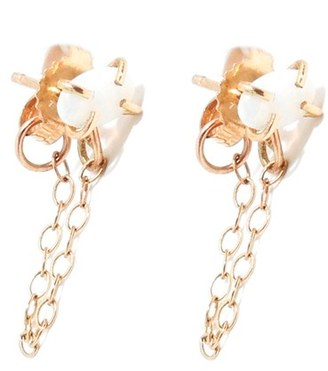 Women's Melissa Joy Manning Opal Ear Chains $250 thestylecure.com