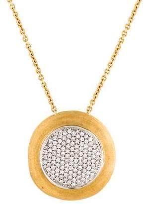 Marco Bicego 18K Diamond Delicati Jaipur Pendant Necklace