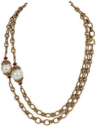 One Kings Lane Vintage Chanel Sautoir Necklace - 1983 - Vintage Lux