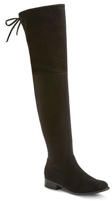 Women's Gisela Over the Knee Fashion Boots - Merona $49.99 thestylecure.com