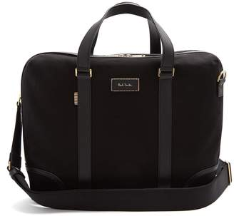 Paul Smith Canvas and leather briefcase