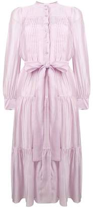 See by Chloe tiered pleated dress