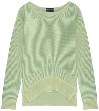 Emporio Armani Ribbed Knit Sweater