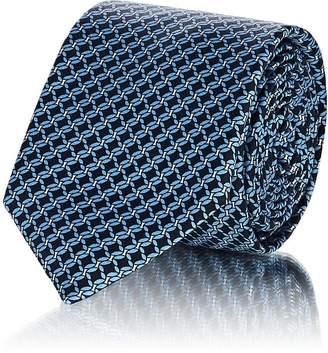 Barneys New York Men's Twisted Rope Silk Satin Necktie