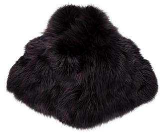 Louis Vuitton Fox Fur Stole