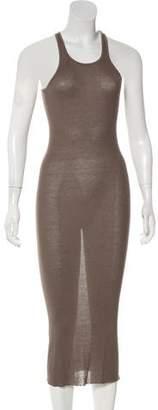 Rick Owens Midi Knit Dress