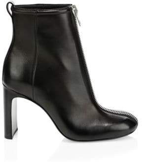Rag & Bone Ellis Zip Leather Ankle Boots