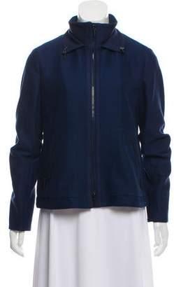 Akris Punto Lightweight Zip-Up Jacket