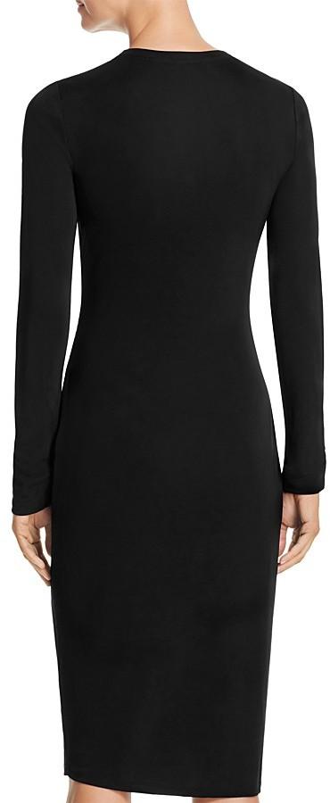 Elie Tahari Saniya Lace Shoulder Dress 3