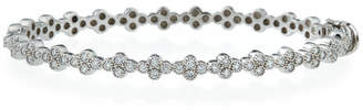 Jude Frances Diamond Quad Bracelet in 18K White Gold