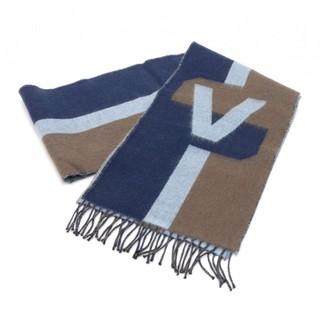 62a252e3c5573 Louis Vuitton Navy Cashmere Scarves