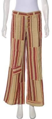 Ralph Lauren Mid-Rise Linen Pants