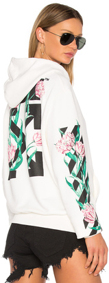 OFF-WHITE Tulips Hoodie $591 thestylecure.com