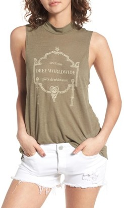 Women's Obey Resistance Tank $33 thestylecure.com