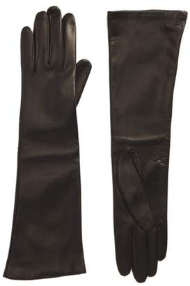 Max Mara Long Leather Gloves