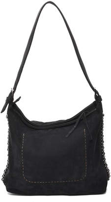 Carla Mancini Top Zipper Bucket Bag
