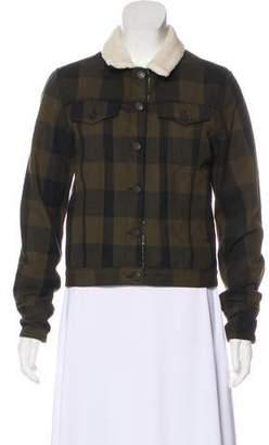 Rag & Bone Sherpa-Lined Twill Jacket