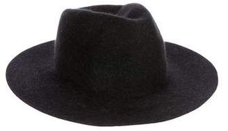 Rag & Bone Fur Wide Brim Hat