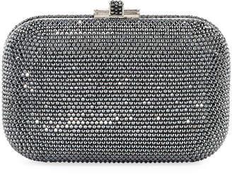 Judith Leiber Couture Crystal Slide-Lock Clutch Bag