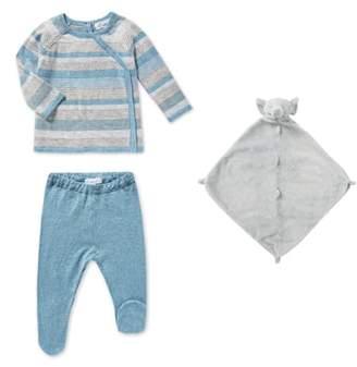 Angel Dear Sweater, Pants & Blankie Set