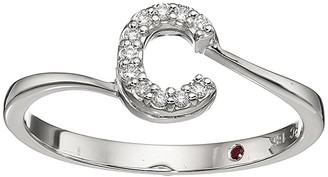 Roberto Coin Tiny Treasure Initial C Love Letter Ring