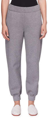 The Row Linzia Brushed Cotton Sweatpants