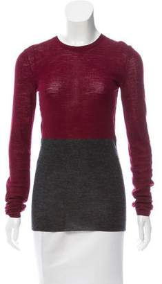Celine Colorblock Knit Sweater