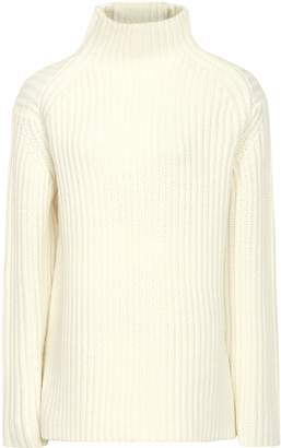 ace40a47e684 Reiss Sonia - Chunky Ribbed Jumper in Off White