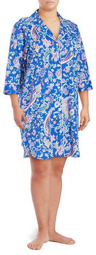 Lauren Ralph LaurenLauren Ralph Lauren Plus Size Pajama Nightgown
