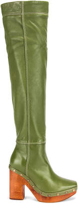 Jacquemus Boot in Green | FWRD
