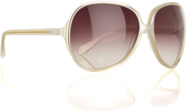 Oliver Peoples Sofiane oversized acetate sunglasses