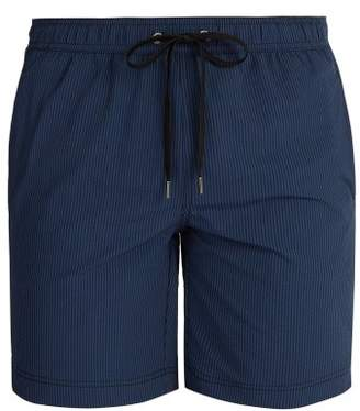 Onia Charles Swim Shorts - Mens - Navy Multi