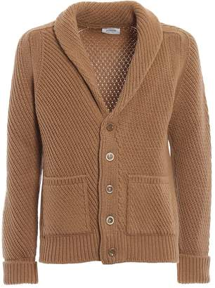 Dondup Braided Merino Wool Warm Cardigan