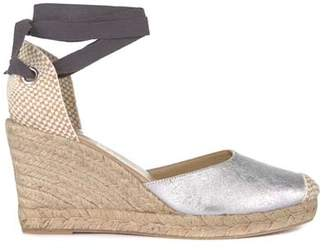 f21a80f6f38 Mint Velvet Erin Silver Wedge Espadrille